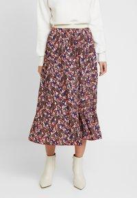 NAF NAF - LECAMPUS - Pliceret nederdel /Nederdele med folder - imprime - 0