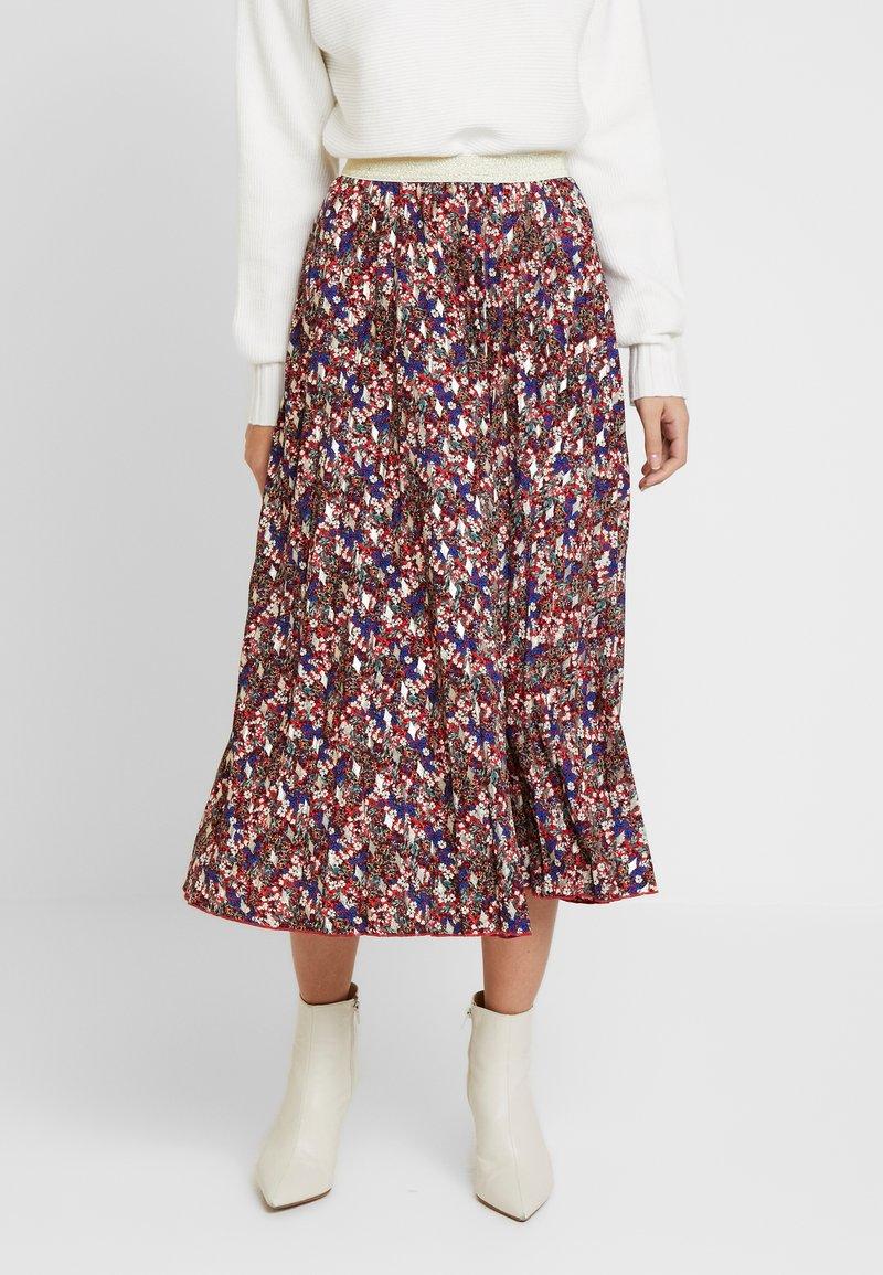 NAF NAF - LECAMPUS - Pliceret nederdel /Nederdele med folder - imprime