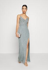 Lace & Beads - MUNA MAXI - Occasion wear - light teal - 1