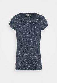 Ragwear - MINT ORGANIC - Print T-shirt - navy - 3
