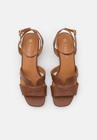 Divine Factory - Sandals - camel - 5
