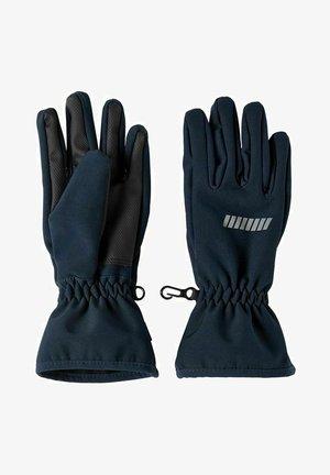 ALFA SOFTSHELL - Gloves - dark sapphire