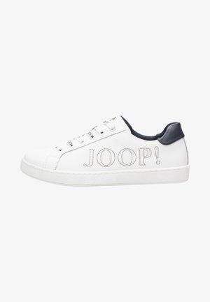 LETTERA STRADA - Sneakers laag - white/dark blue