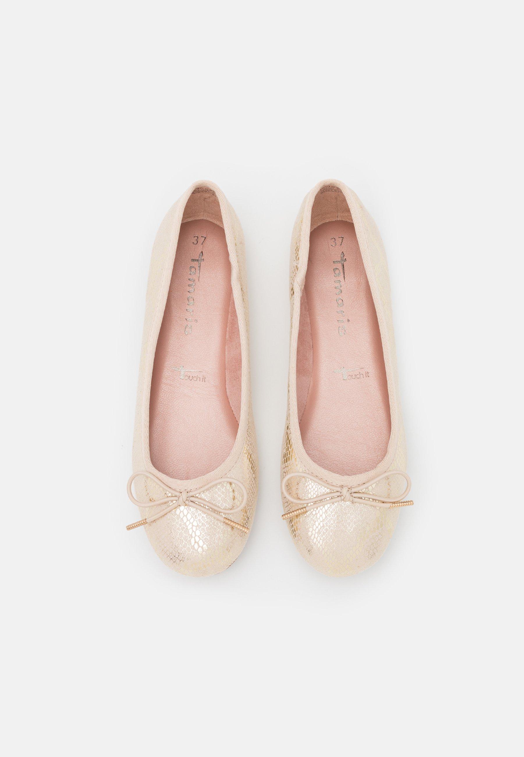Femme Ballerines - ivory