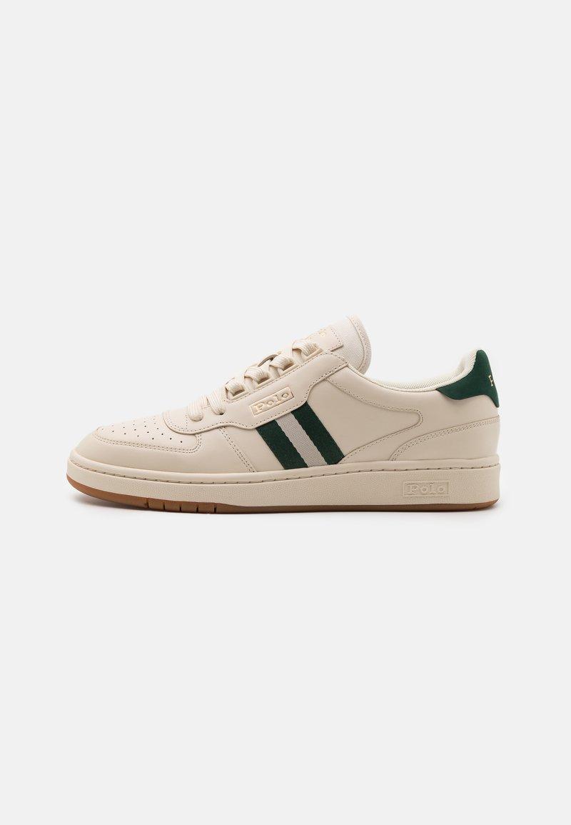 Polo Ralph Lauren - UNISEX - Sneakersy niskie - ecru/college green