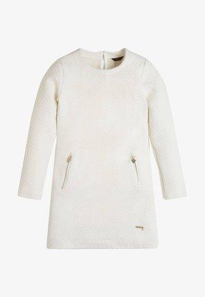 LUREX - Jumper dress - weiß
