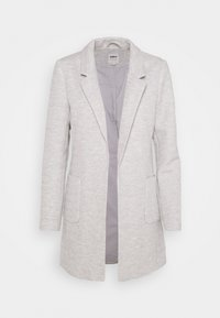 ONLY - ONLBAKER LINEA COATIGAN - Blazer - light grey melange