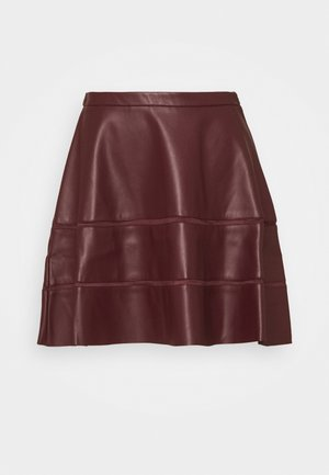 ONLKATIE SKATER SKIRT - Mini skirt - port royale