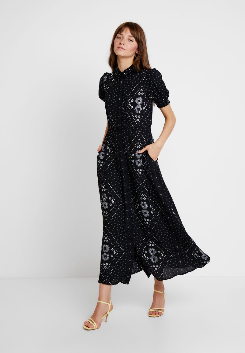 Vero Moda - VMNICE ANCLE DRESS - Maxikjoler - black