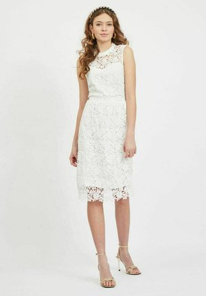 Cocktail dress / Party dress - cloud dancer