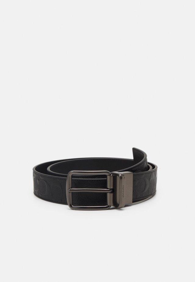 WIDE BELT - Pásek - black