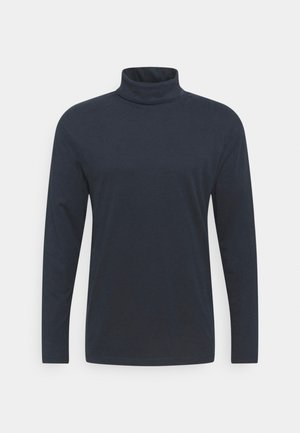 JJERILEY TEE TURTLE NECK - Long sleeved top - navy blazer