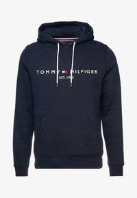 Tommy Hilfiger - LOGO HOODY - Huppari - blue - 3
