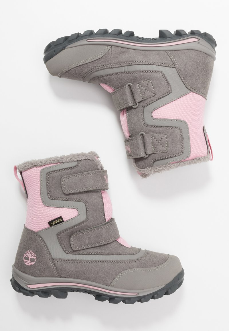 Timberland - CHILLBERG 2 STRAP GTX - Winter boots - medium grey