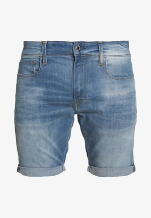 3301 SLIM  - Jeansshort - elto superstretch vintage striking blue