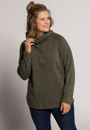 Sweatshirt - olijfgrijs