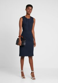 J.CREW TALL - PORTFOLIO DRESS - Etuikleid - navy - 1