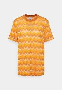 M Missoni - Print T-shirt - pumpkin - 5