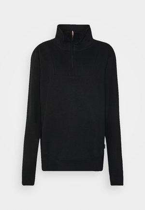 HALFZIP MARIESTAD - Sweater - black