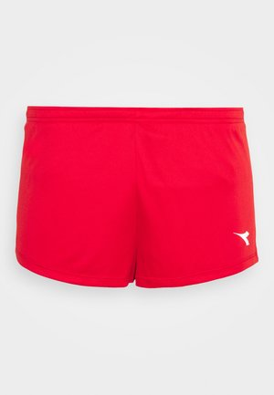 RACE SHORTS TEAM UP - Sports shorts - tomato red