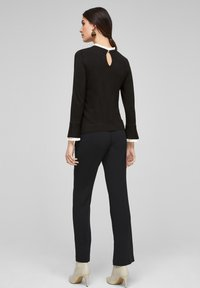 s.Oliver BLACK LABEL - Jumper - black - 2