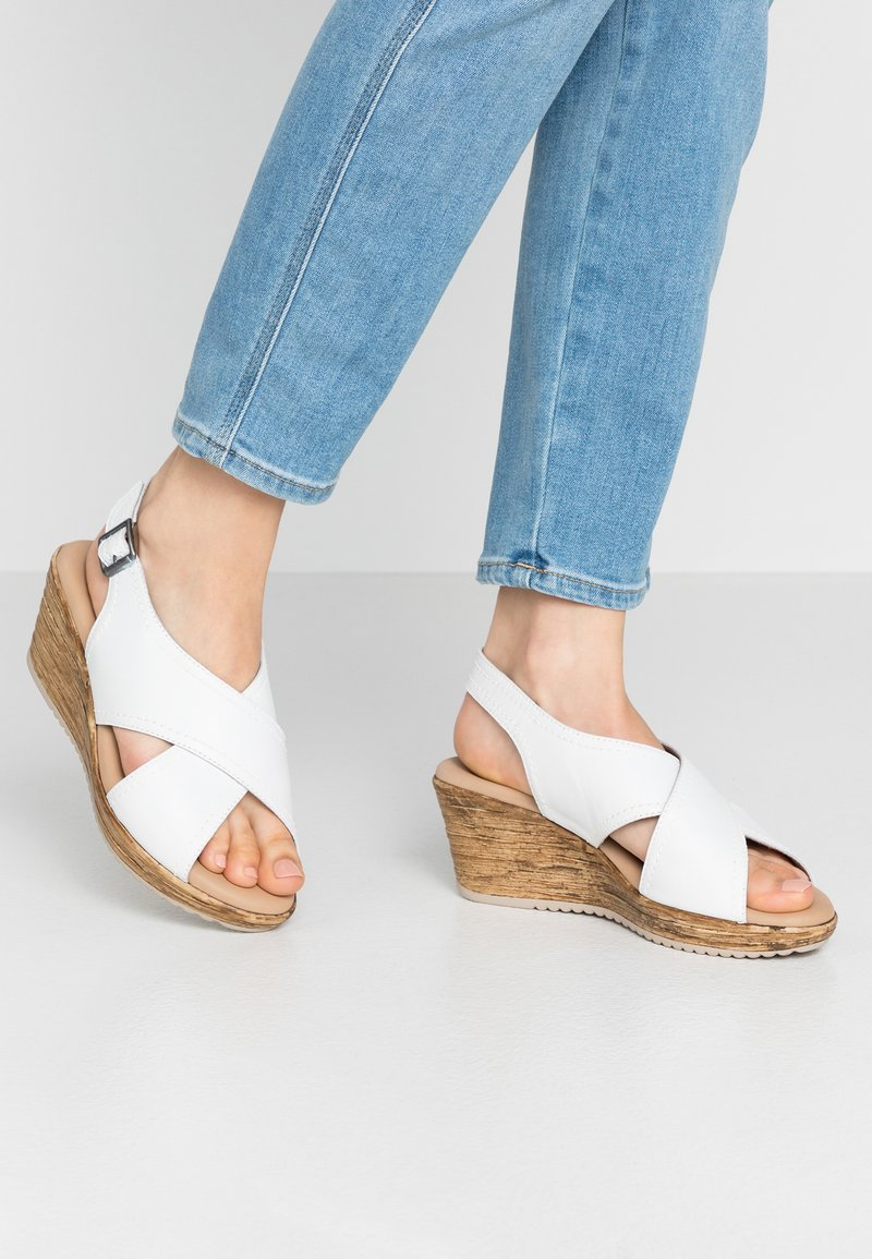 Jana - Clogs - white