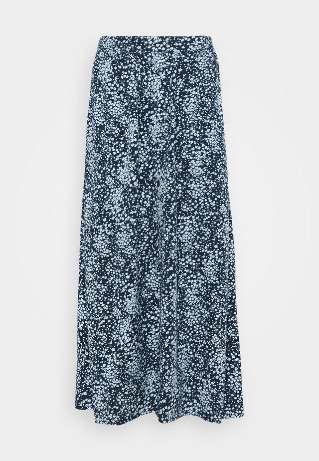 AMAYA RAYE SKIRT  - Áčková sukně - blue
