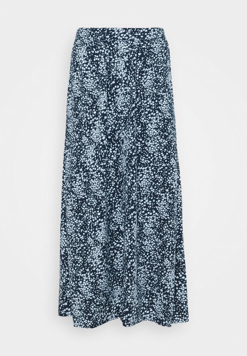 Moss Copenhagen - AMAYA RAYE SKIRT  - A-line skirt - blue