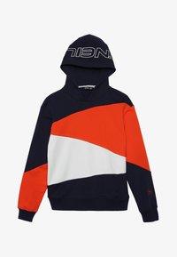 orange/blue