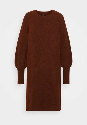 SLFSIF KAYA DRESS O NECK - Jumper dress - smoked