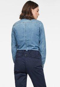 G-Star - 3301 - Button-down blouse - blue denim - 1
