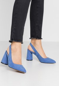 ONLY SHOES - ONLPIXIE HEELED SLINGBACK  - Szpilki - royal blue - 0