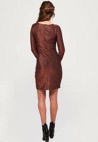 Superdry - Cocktail dress / Party dress - copper - 2