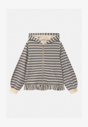 ZIP THROUGH HOODY WITH RUFFLE - Zip-up hoodie - multi-coloured