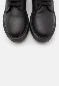 Copenhagen - CPH453 - Kotníkové boty na platformě - black - 5
