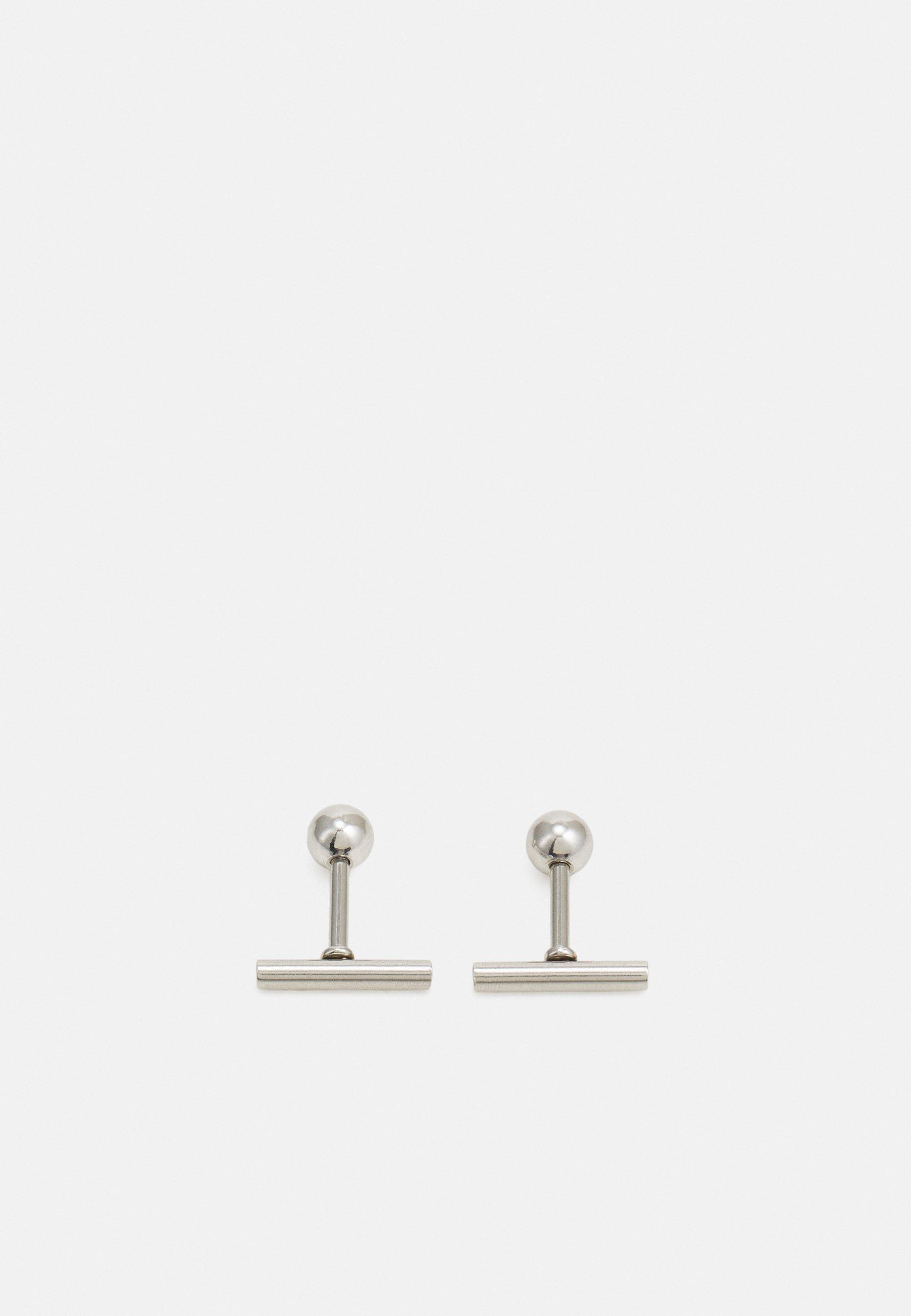 Men BAR STUD EARRINGS - Earrings