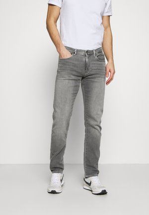 Jeans slim fit - grey denim