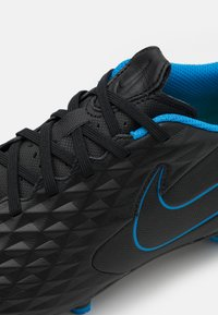 Nike Performance - TIEMPO LEGEND 8 ACADEMY FG/MG - Moulded stud football boots - black/siren red/light photo blue - 5