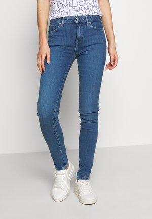 VENICE BETTY - Slim fit jeans - blue denim