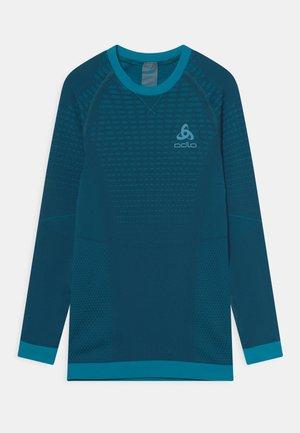 CREW NECK PERFORMANCE WARM UNISEX - Unterhemd/-shirt - deep dive/stunning blue