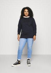 Ragwear Plus - ERMELL - Sweatshirt - navy - 1