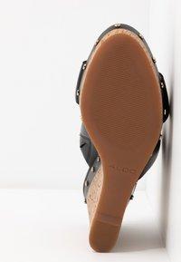 ALDO - LOVIESIEN - Heeled mules - black - 6