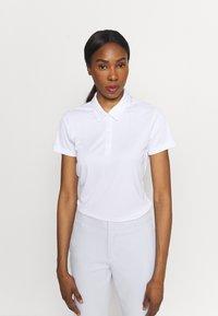 adidas Golf - TOURNAMENT - Polo shirt - white - 0