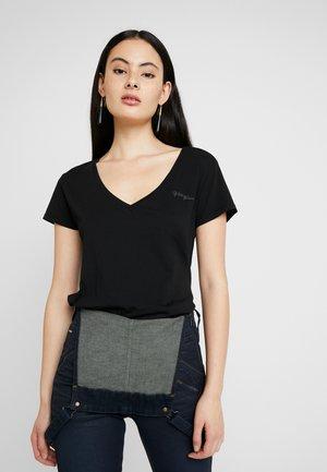 GRAPHIC LOGO - Basic T-shirt - black
