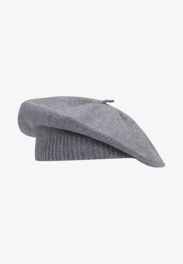 BERET - Hat - mottled grey