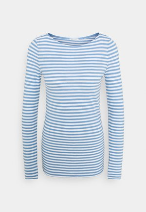 LONG SLEEVE - Long sleeved top - washed cornflower