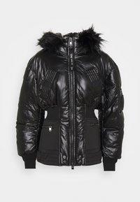 Diesel - W-ISOKE-SHINY - Winter jacket - black - 4