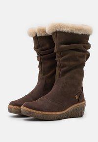 El Naturalista - MYTH YGGDRASIL - Wedge boots - pleasant/brown - 2
