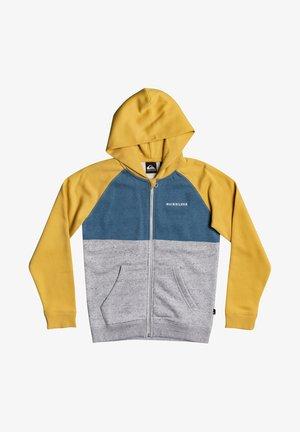 Zip-up hoodie - rattan