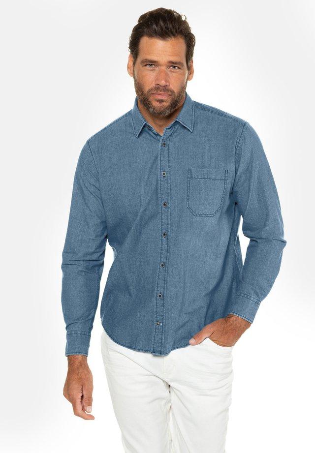 Overhemd - blue denim
